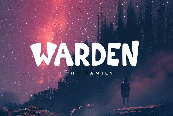 Warden Typeface by Tugcu Design Co. on @creativemarket