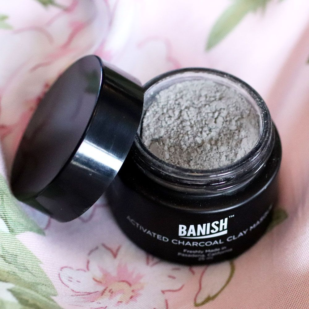 AD Banish Activated Charcoal for Acne Mask #charcoal #skincare #facemask #beauty
