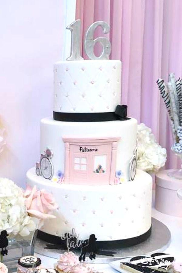 French / Parisian Birthday Cake
