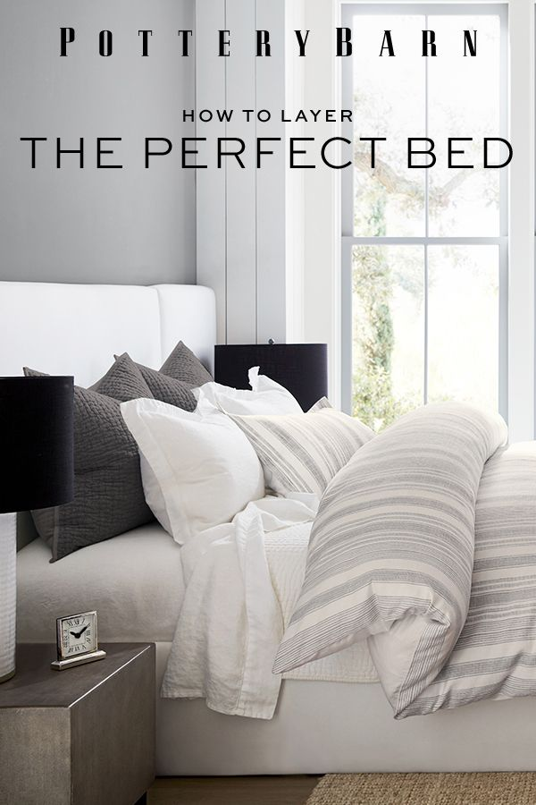 How To Layer The Perfect Bed