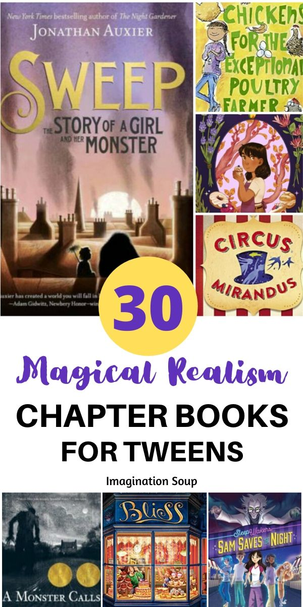 Hook Tweens on Magical Realism with These Incredible Chapter Books | Imagination Soup