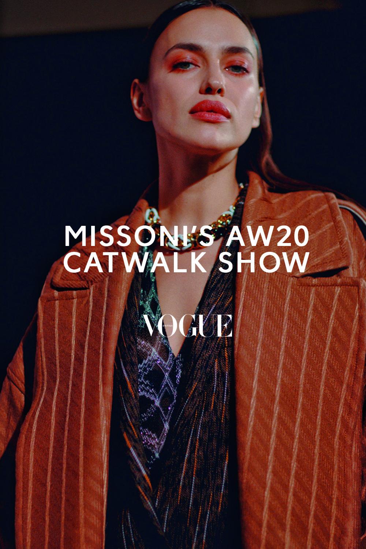 Missoni's AW20 Catwalk Show At Milan Fashion Week