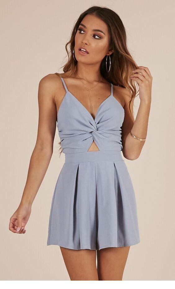 A very nice grey summer dress