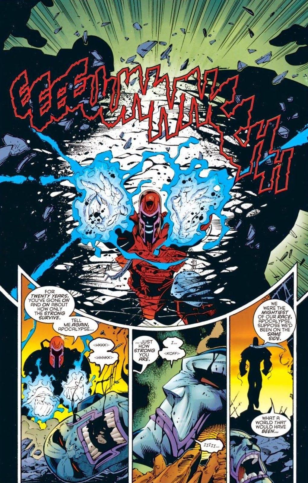 APOCALYPSE Marvel, Historieta, Comix