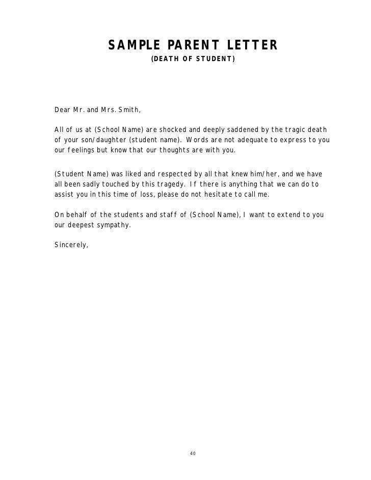 Parental Consent Letter For Work Sample] Parental Consent Letter