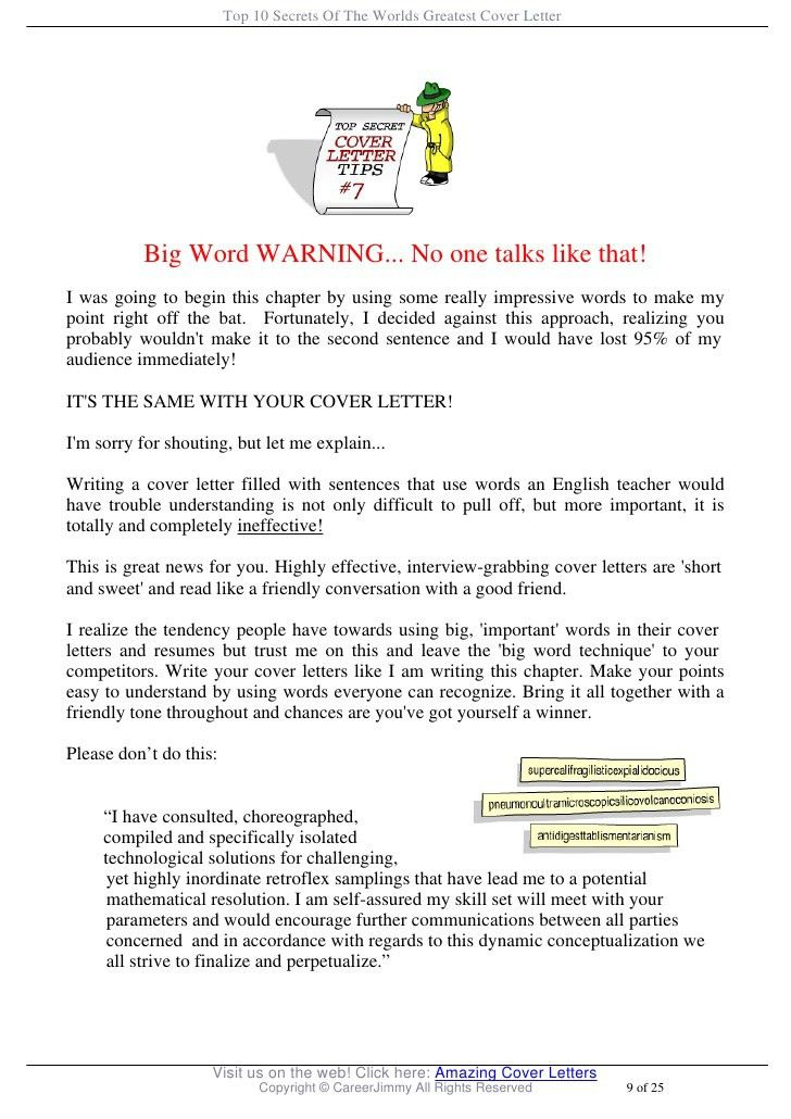 Easy Cover Letters cover letter easy and easy cover letter easy - great cover letter secrets
