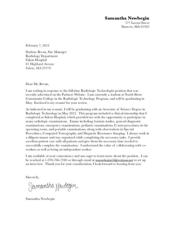 Awesome Blood Bank Technician Cover Letter Contemporary ...