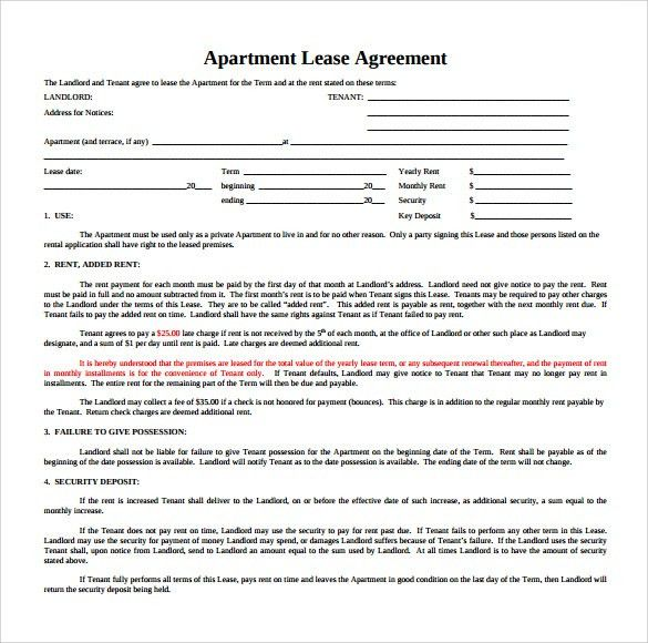 Tenant Agreement Form Free Free Rental Forms To Print Free And - sample commercial lease agreement