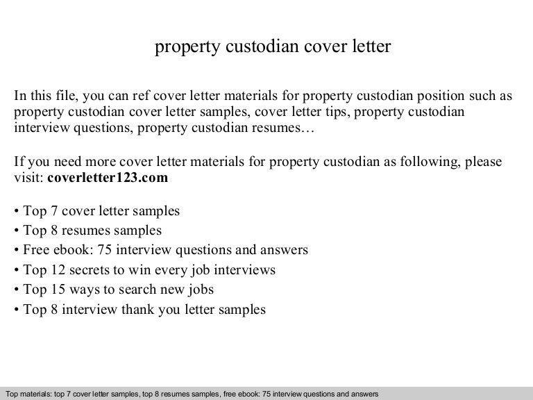 janitor cover letter resume cv cover letter