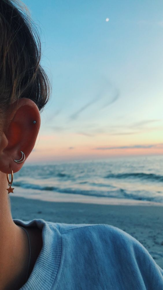 The tradition of getting piercings is actually more ancient than you could possibly imagine. Archeologists found proof that people pierced their years 5000 years ago. Primitive people believed that piercings protect them against demons and spirits that could enter their bodies through their ears. It's the supposition of anthropologists.