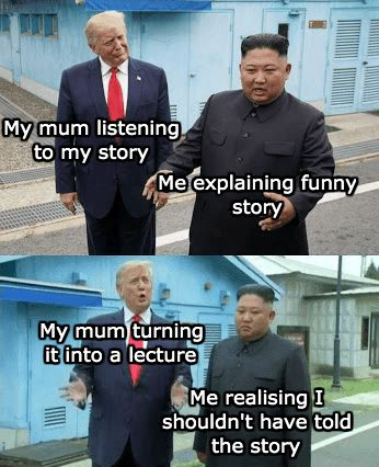 No matter your political affiliation, we can all come together to laugh at this meme featuring Trump and Kim Jong-Un. #Trump #Memes #Dank #NorthKorea #KimJongUn #Politics