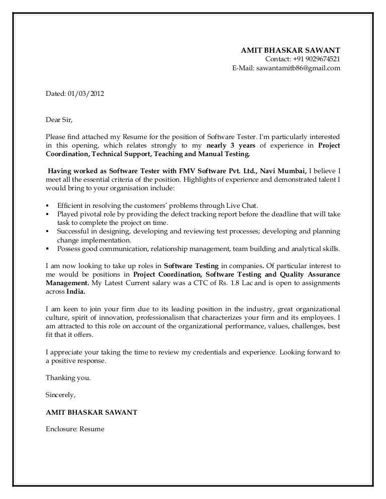 ... Cover Letter For Qa Tester Qa Tester Cover Letter, Qa Tester   Qa  Analyst Manual ...
