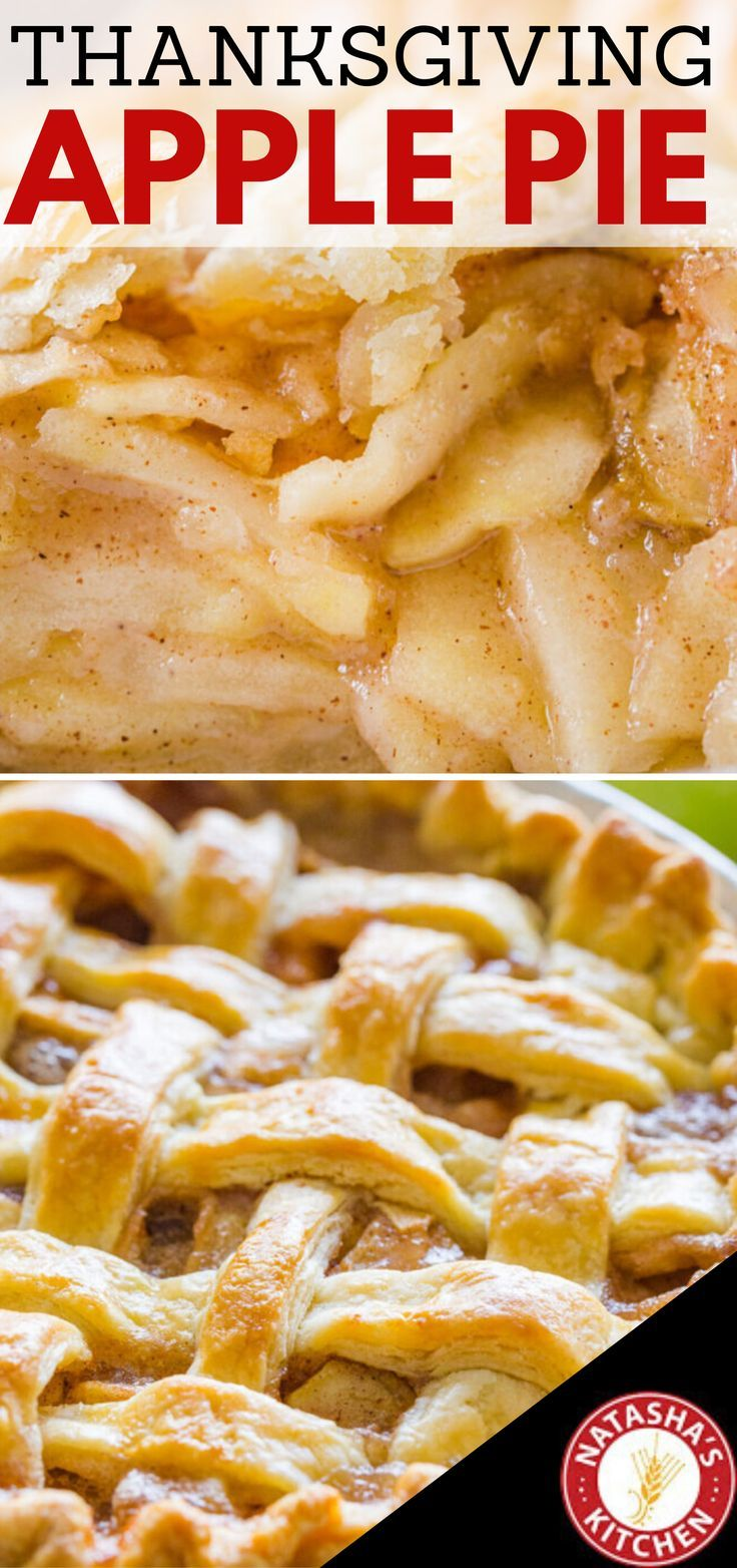 Apple Pie Recipe with the Best Filling (VIDEO) - NatashasKitchen.com