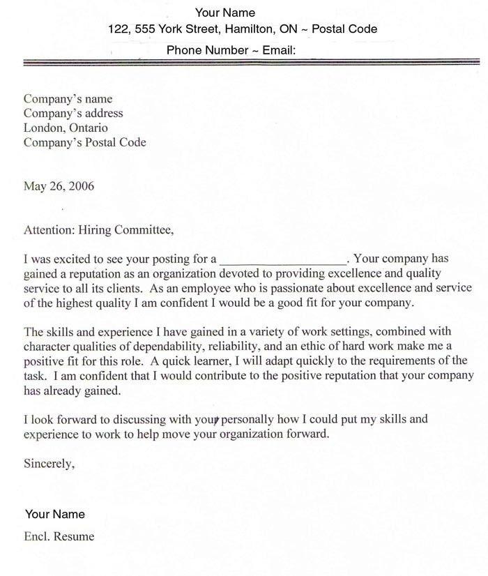 Cover Letter For Online Application Sample Cover Letter Examples - free cover letter creator