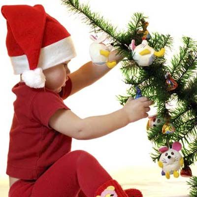How to Kidproof Your Holiday Decor Little ones love the razzle-dazzle of baubles and trinkets, but if they get their mitts on the wrong ones, you could have a problem on your hands