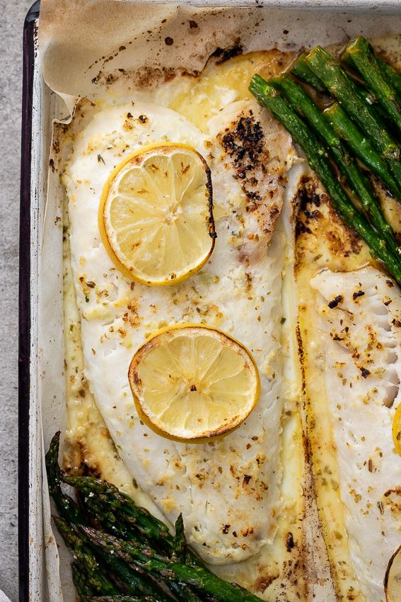 Easy lemon butter baked fish - Simply Delicious
