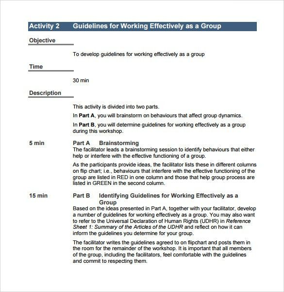 Template For Manual Word Manual Template 5 Free Word Documents - sample user manual template
