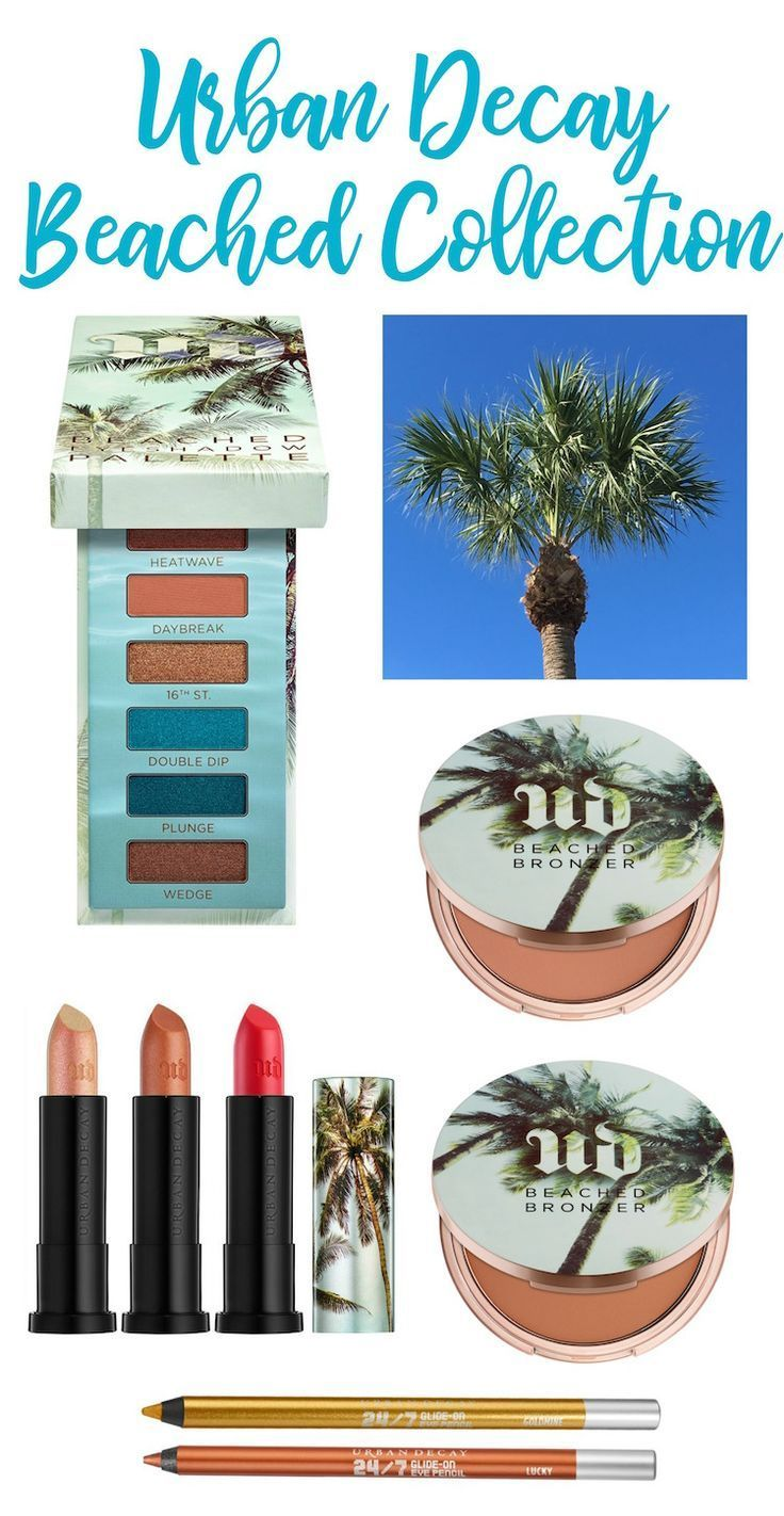 Urban Decay Beached Collection…gorgeous summer makeup! #review