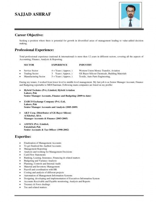 Example Of Objective In Resume Sample Objectives Resumes Sample - marketing objective example