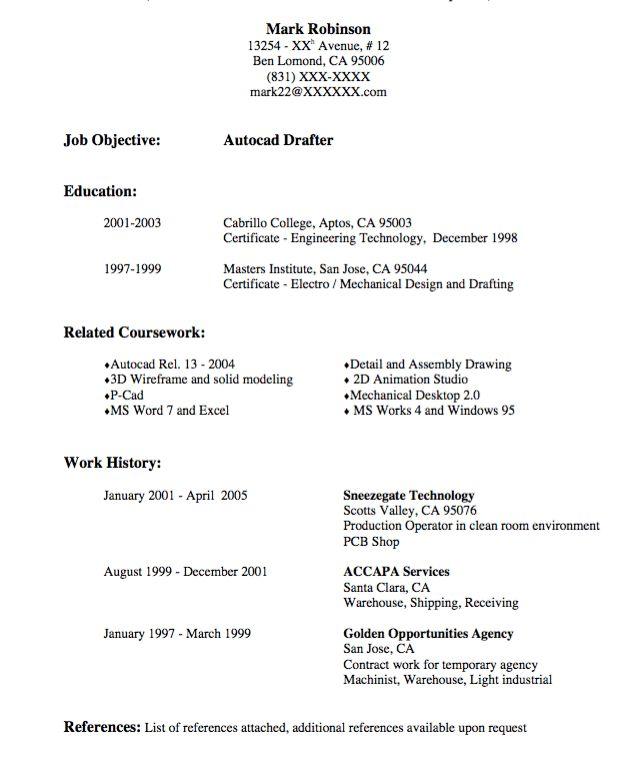 draftsman resume 7 draftsman resume templates free word pdf