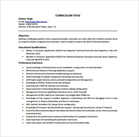 desktop support engineer resume sample desktop support engineer