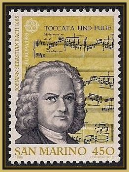 Johann Sebastian Bach [1685 - 1750] was a German composer and musician of the Baroque period. He enriched established German styles through his skill in counterpoint, harmonic and motivic organisation. He is now generally regarded as one of the main composers of the Baroque period, and as one of the greatest composers of all time.