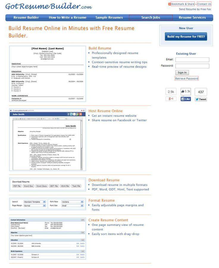 build a resume online hitecauto - real free resume builder