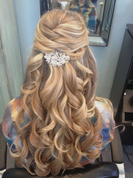 Bridesmaid Hair Sleek