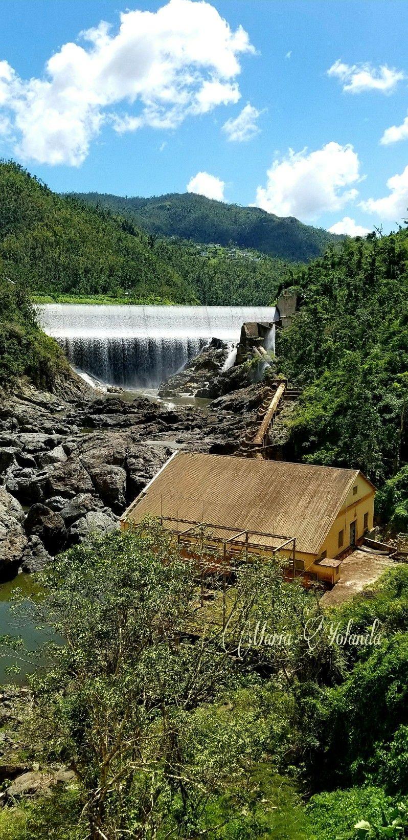 COMERIO 🇵🇷 Represas El Salto (2) Antigua Hidroeléctrica