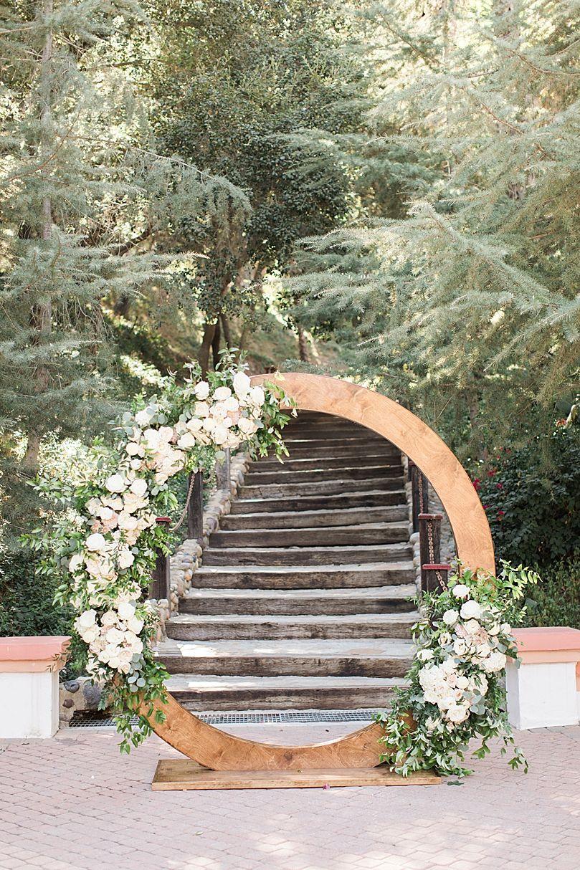 Dreamy Rancho Las Lomas Wedding with Donut Wall