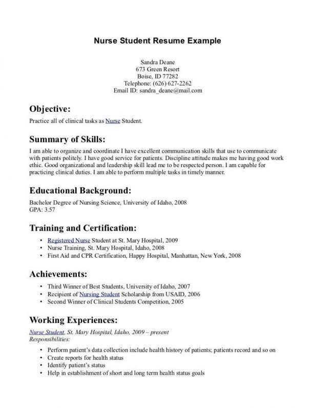 Resume Format In Canada Canadian Style Resume Format That Will - best resume format for nurses