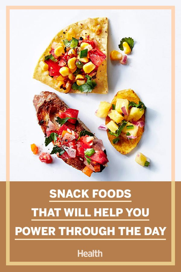 Snack Foods That Will Help You Power Through the Day