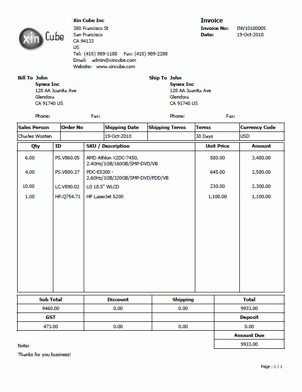 Delivery Invoice Template Delivery Receipt Template 10 Free - sample invoice quotation