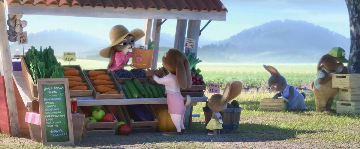 judy hopps carrot farmer ile ilgili görsel sonucu