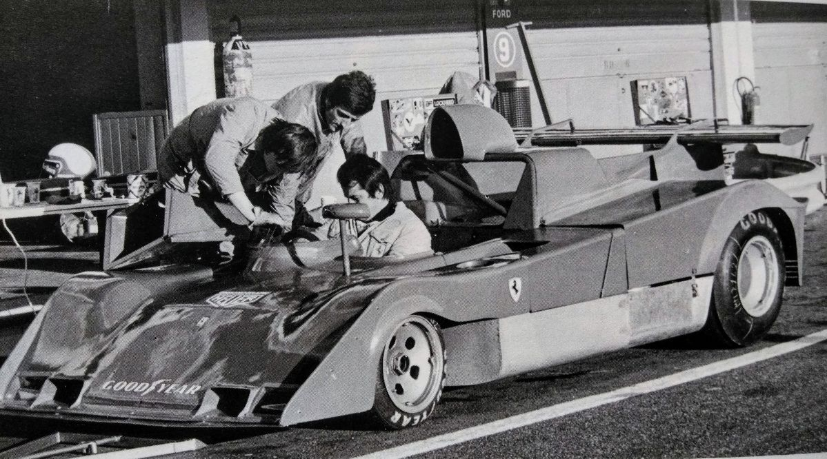 New 312PB seen here at Castellet in December 1973. Anni