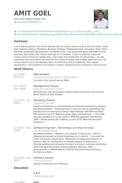 Mba Graduate Resume Examples - Examples of Resumes - mba graduate resume