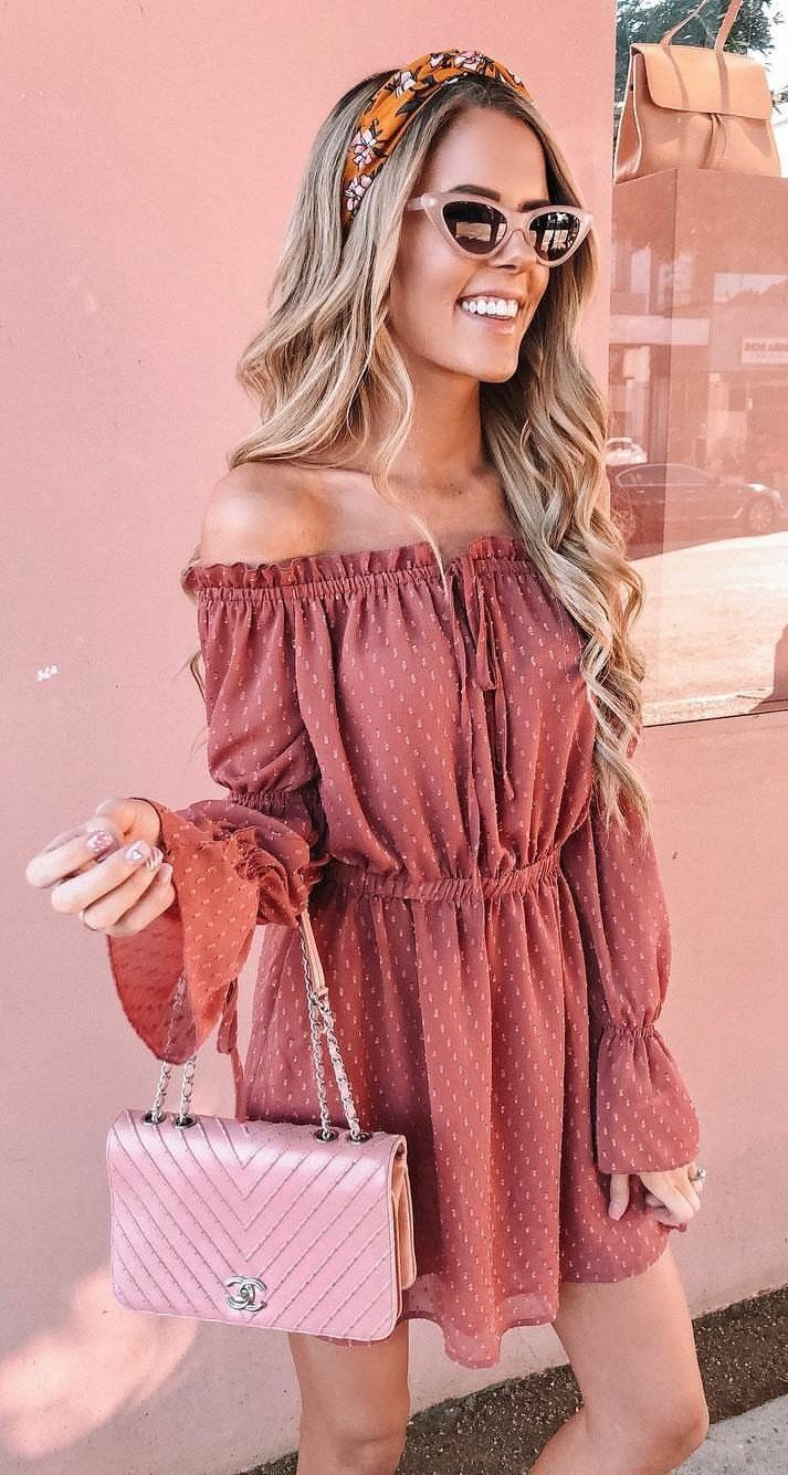 pink romper #spring #outfits