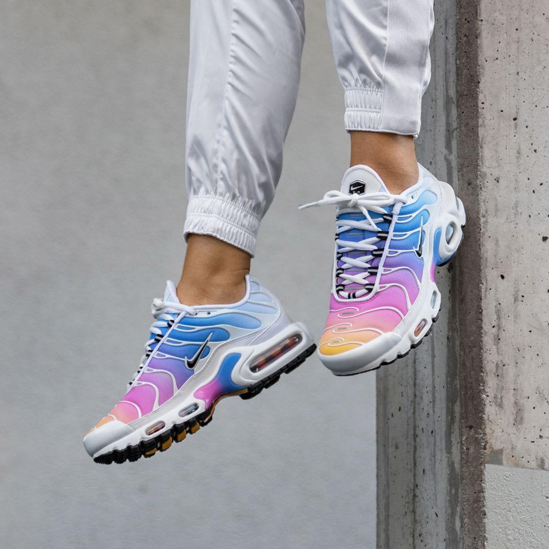 Nike Wmns Air Max Plus *Gradient Pack* Frauenschuh weiß / pink