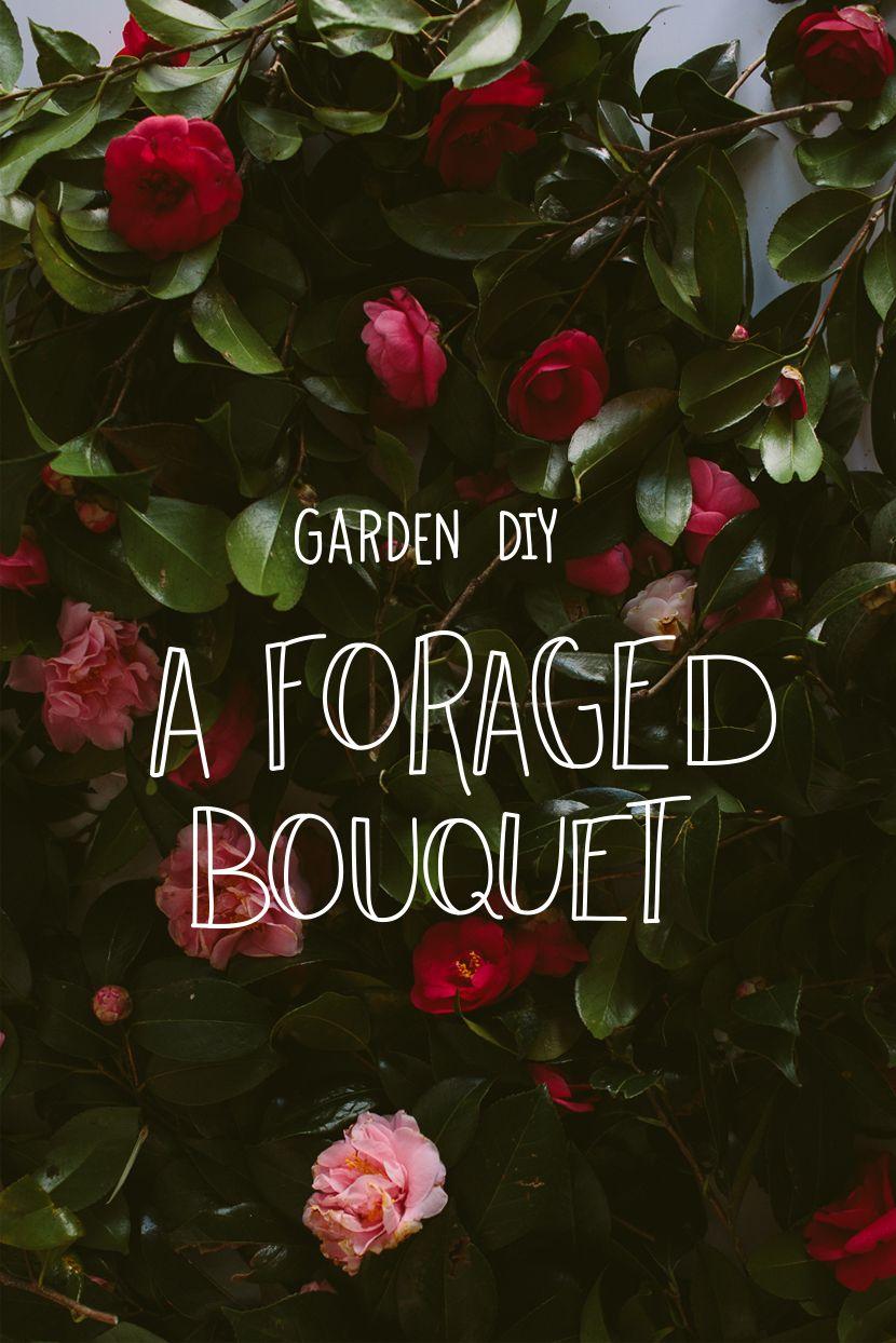 DIY Foraged Spring Bouquet