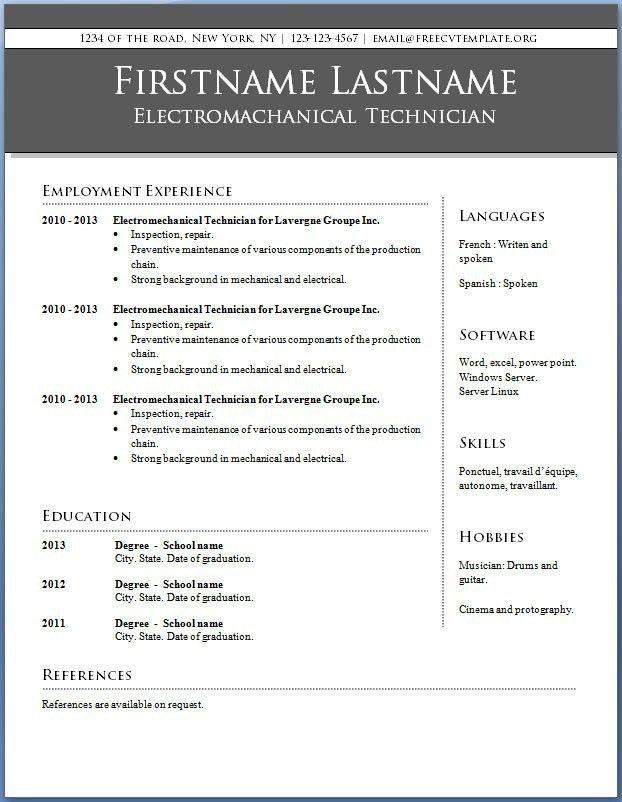 find resume templates word 2007 cvresumeunicloudpl - Find Resume Templates Word 2007