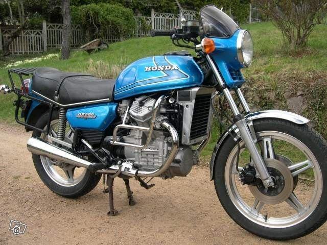 Original Honda CX500 | Honda cx500, Honda motorcycles, Honda