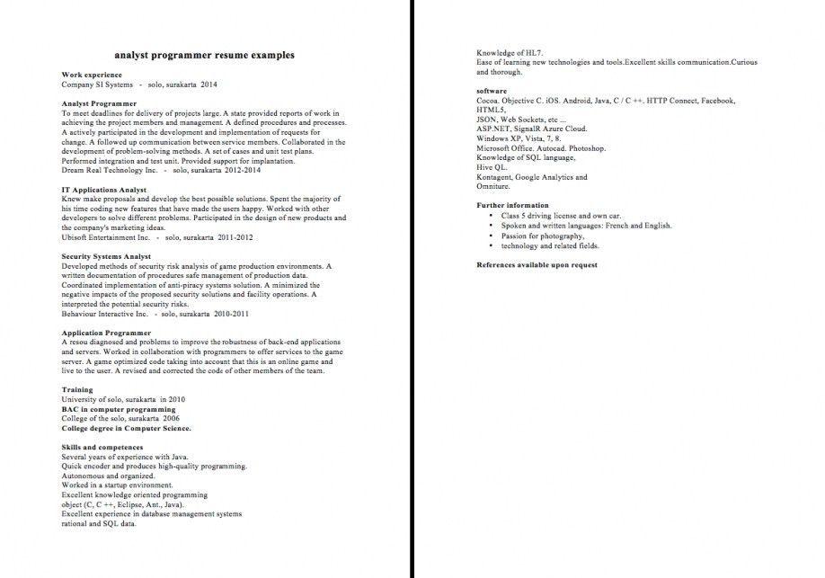 computer programmer job descriptions sausageroll - system programmer job description