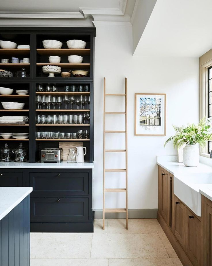 Contrast in the kitchen