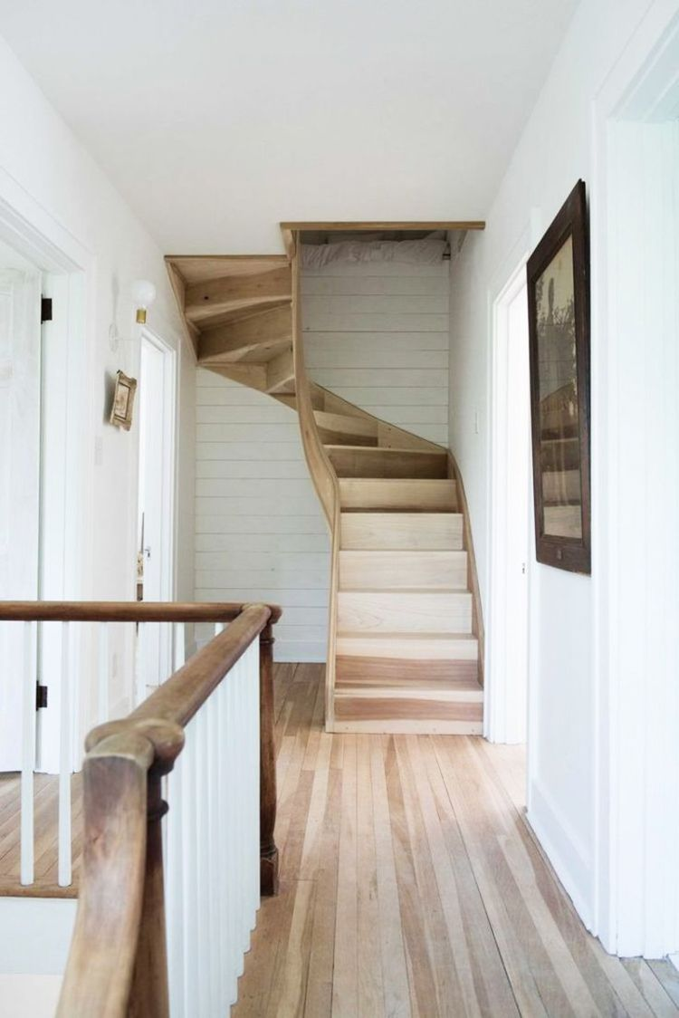 I'm sharing a roundup of my favorite space saving staircases, along with our renovation plan on the blog today. Click over for details!