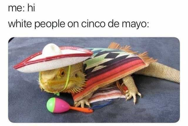 sCelebrate Cinco de Mayo with some memes! #Holiday #AlcoholicDrinks #CincoDeMayo #Mexican #Party #WhitePeople #Memes