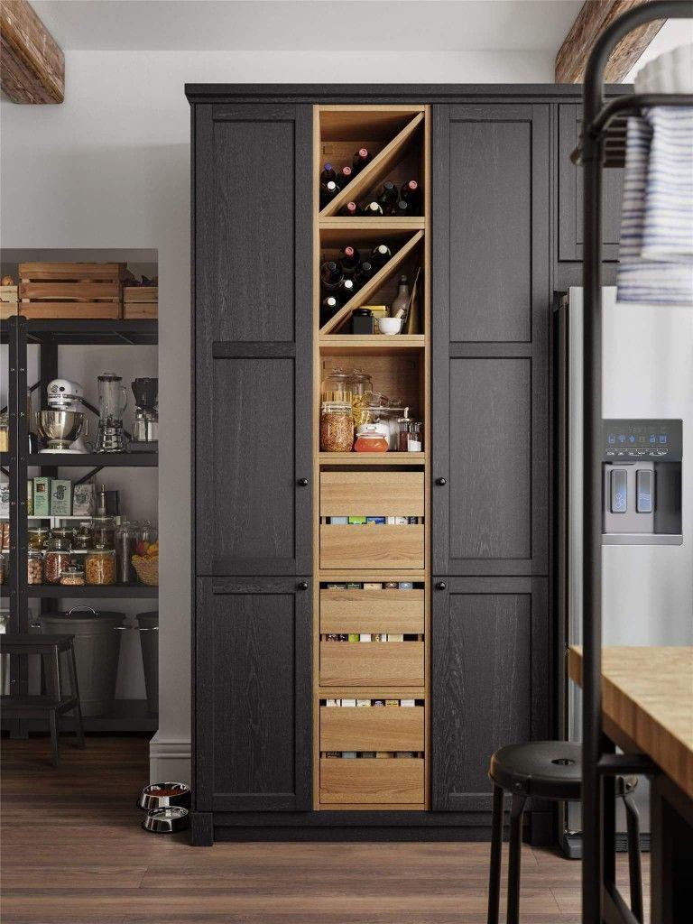 Idee Rangement Kitchen étagères Range Bouteilles Casiers