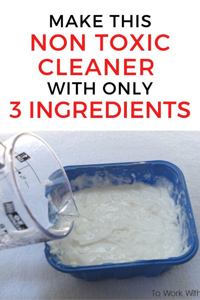 DIY Non Toxic Homemade Cleaning Product for your Bathroom
