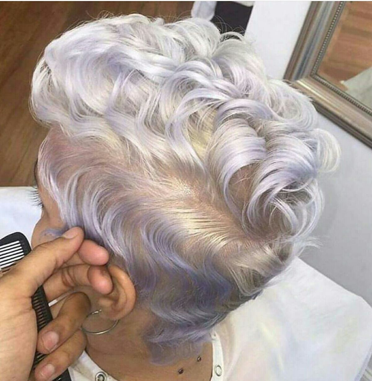 Pin by sara dezorzi on try it if you want to pinterest hair