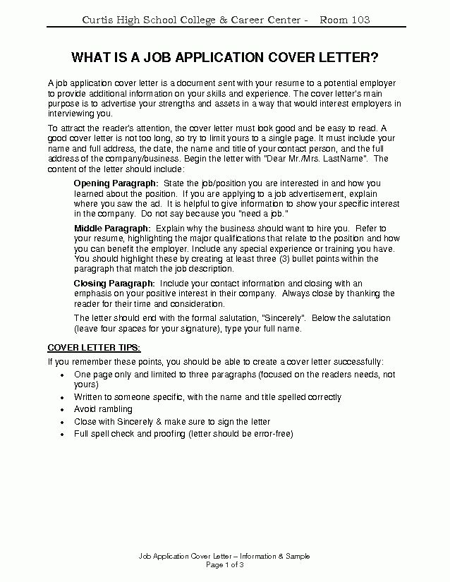 job application covering letter uk