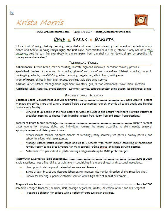 Thai Chef Sample Resume] Sous Chef Cv 13 Files, Resume For A ...